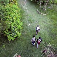At Zhou-Zai Wetland Park.