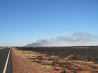 Controlled bush fires are used to prevent uncontrolled bushfires in Western Australia