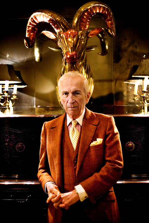 Journalist and writer Gay Talese at his Upper East Side apartment in New York City
