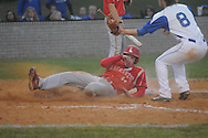 Lafayette High vs. Tishomingo County in MHSAA Class 4A playoff action on Thursday, April 25, 2013 in Iuka, Miss. Lafayette High won 5-3.