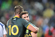 CAPE TOWN, SOUTH AFRICA - Saturday 11 July 2015, Cobus Reinach of South Africa during the rugby test match between South Africa (Springboks) and the Word XV at Newlands Rugby stadium.<br /> Photo by Luigi Bennett / ImageSA