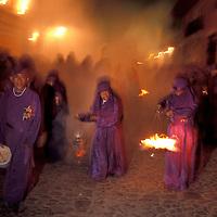 Easter Procession, Samana Santa, Holy Week, Antigua, Guatemala, Central America