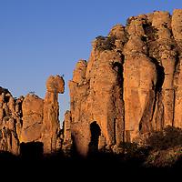 Rock Formations, Parque National de Sierra de Organos, Estado de Zacatecas, Mexico