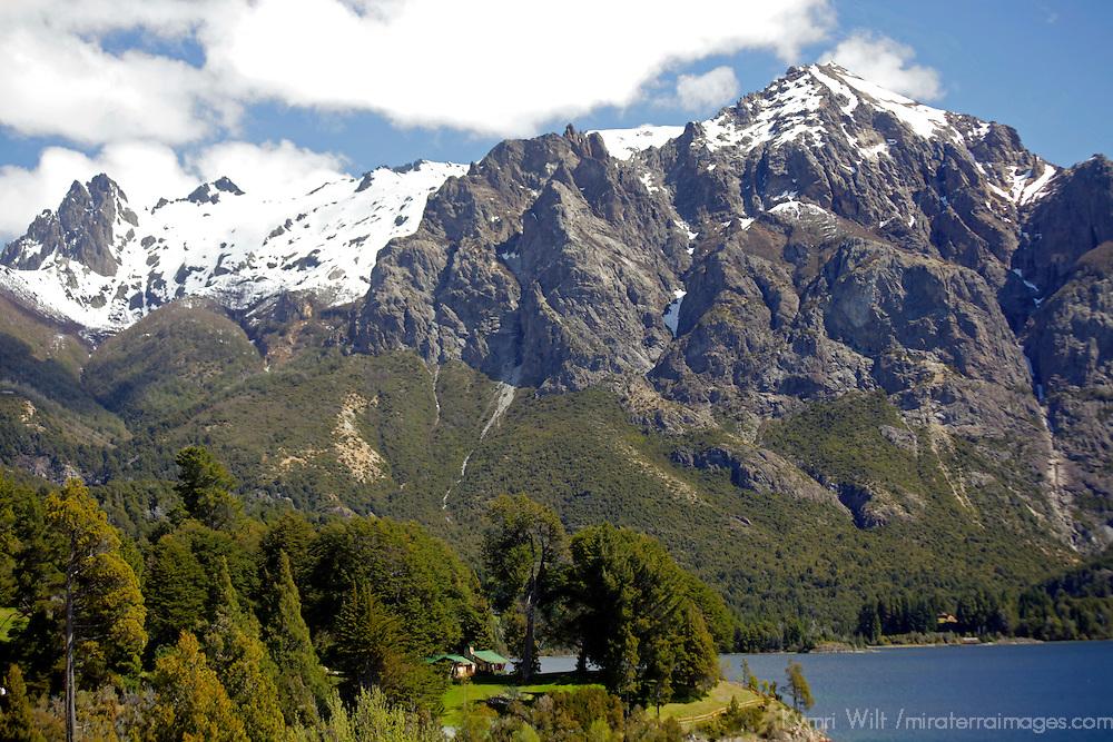 South America, Argentina, Bariloche. Llao Llao Resort scenery.
