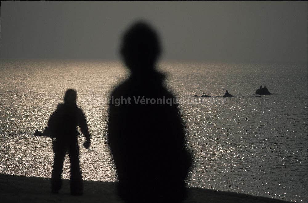 FACING THE YELLOW SEA,  YEONGJIONG ISLAND, SOUTH COREA