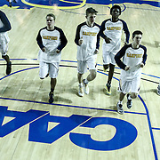 Sanford Warriors warming up prior to a Boys Basketball DIAA State Tournament Finals match between the Sanford Warriors and the St. Georges Hawks Saturday, Mar. 12, 2016, at The Bob Carpenter Sports Convocation Center in Newark, DEL.