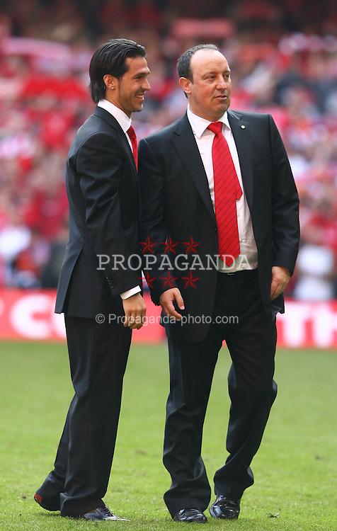 ¿Cuánto mide Rafa Benítez? - Altura - Real height 060513-260-FA-Cup-Final