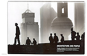 Tearsheet from features and assignments done in China..Leica Magazine, Shanghai ,Architecture and People page1/2..© Daniele Mattioli / Anzenberger
