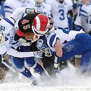 New Canaan Rams Vs Darien Blue Wave.  CIAC Football Championship. Class L Final