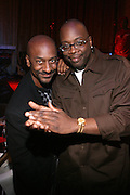 "Steven Hill and Mike Kyser at "" The P. Diddy presents Bad Boy Entertainment Night "" at Spotlight NYC featuring performances by Cherri Dennis and Vanity Kane on January 29, 2008"