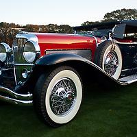 #316 1929 Duesenberg Dual Cowl Phaeton: John D Groendyke