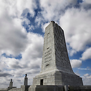 NC00643-00...NORTH CAROLINA - Monument to the Wright Brothers at the Wright Brothers National Memorial in Kitty Hawk.