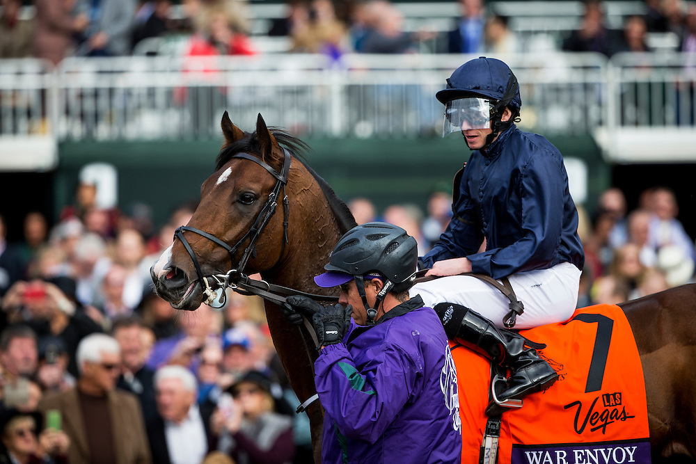October 30, 2015: War Envoy at the Breeders' Cup Dirt Mile at Keeneland Race Track in Lexington, Kentucky. Evers/ESW/CSM