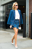 Denim Jacket and Skirt, Outside Creatures of the Wind SS2016