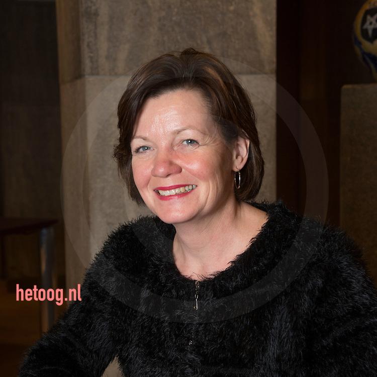 The Netherlands, Nederland 16dec2015 Haaksbergen wethouder Ellen Prent van Haaksbergen