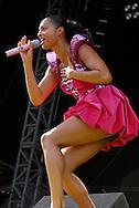 Alesha Dixon, Virgin Mobile V Festival V2009, Hylands Park, Chelmsford, Essex, Britain - 22nd Aug 2009