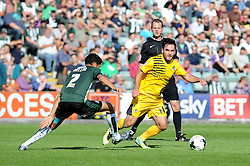 Jake Gosling of Bristol Rovers - Mandatory byline: Neil Brookman/JMP - 07966 386802 - 19/09/2015 - FOOTBALL - Home Park - Plymouth, England - Plymouth Argyle v Bristol Rovers - Sky Bet League Two
