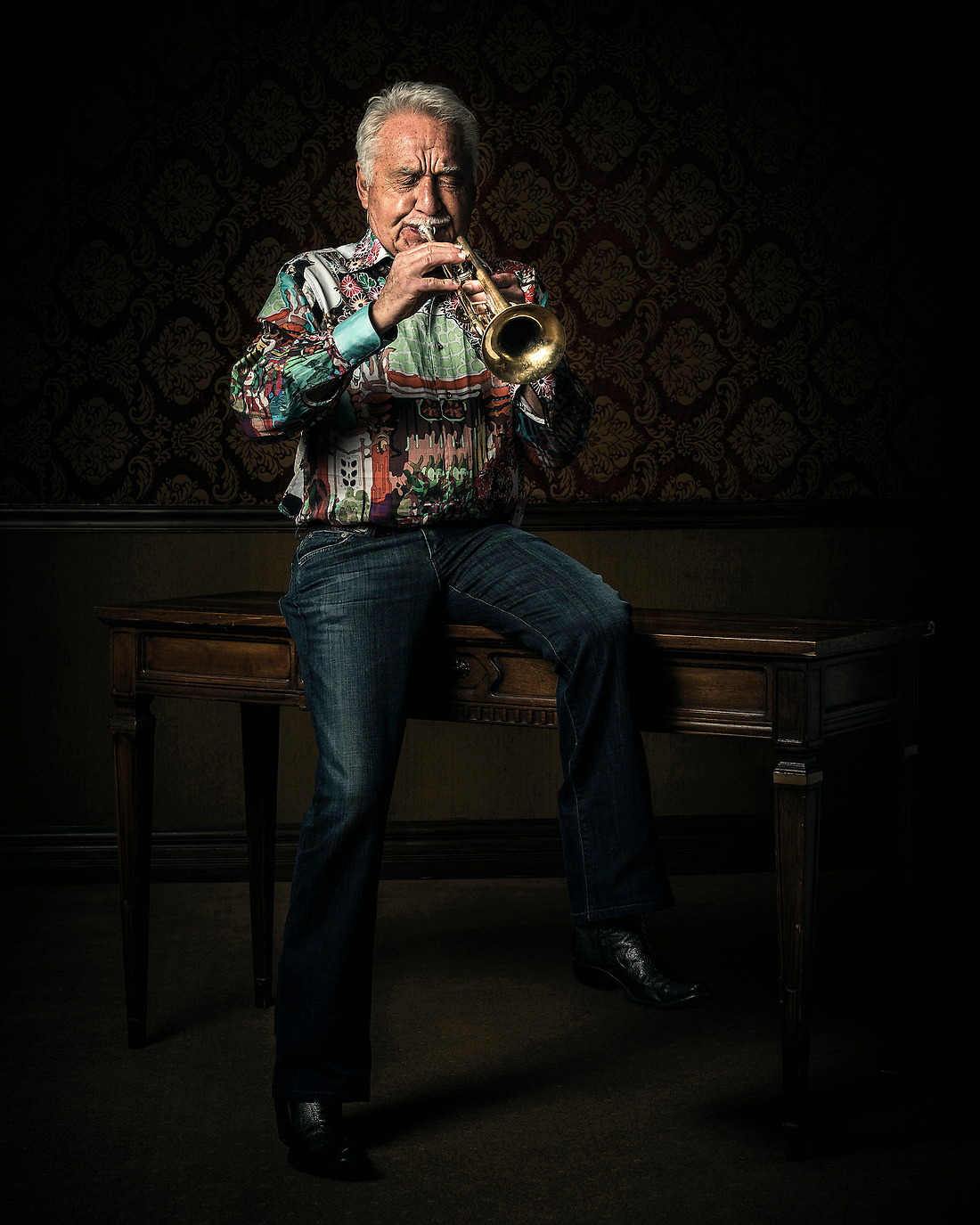 Doc Severinsen Tonight Show Band Leader and Legendary Jazz Artist. — © Jeremy Lock/