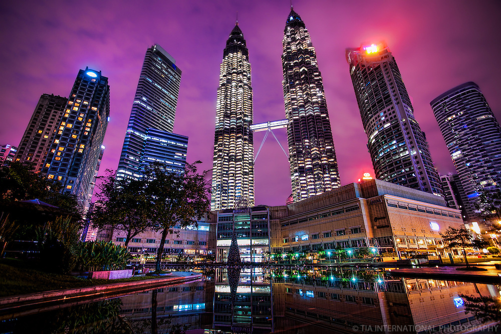 Kuala Lumpur City Centre (KLCC), Early Morning