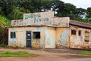 Sweets shop Nicaro, Holguin, Cuba.