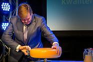 Koning opent donderdag 26 januari in Zutphen de nieuwbouw van het zuivellaboratorium van Qlip. Het b