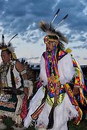 Crow Fair Powwow, Grand Entry, Crow Indian Reservation, Montana