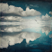 Surreal cloudscape - image manipulation<br />