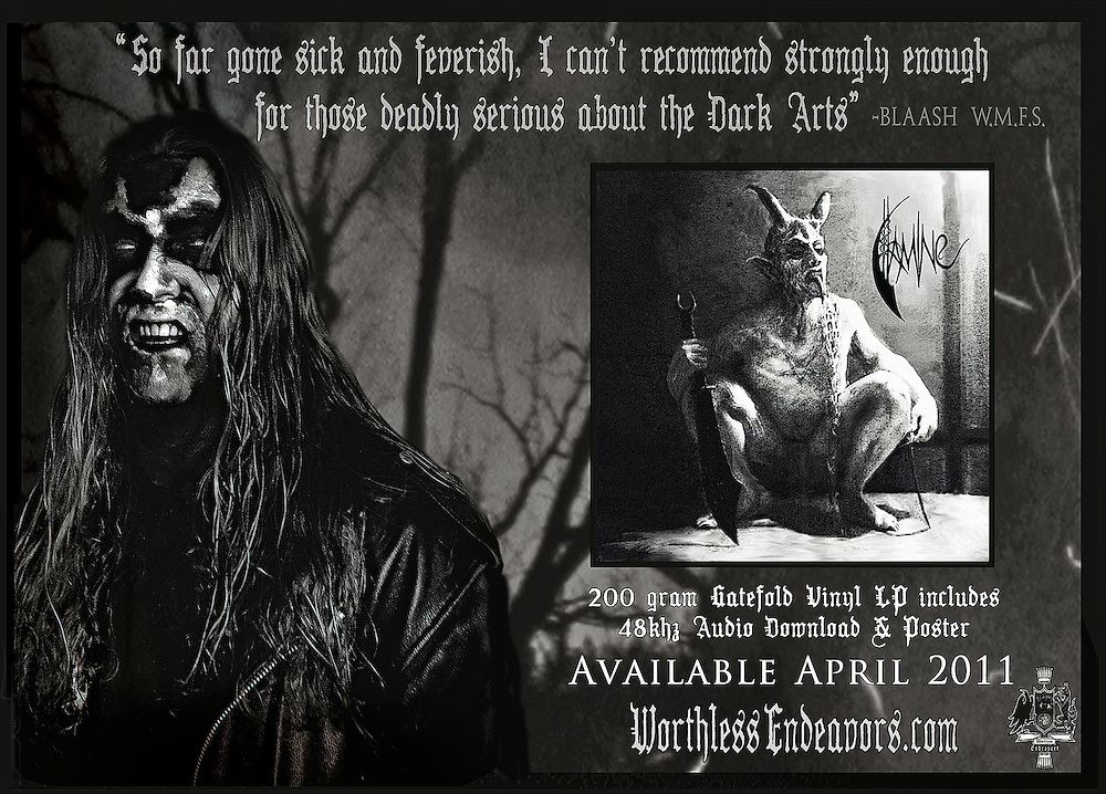 FAMINE 200 gram gatefold vinyl with 48khz audio download and poster. Available April  2011