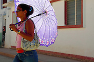 Woman in Campechuela, Granma, Cuba.