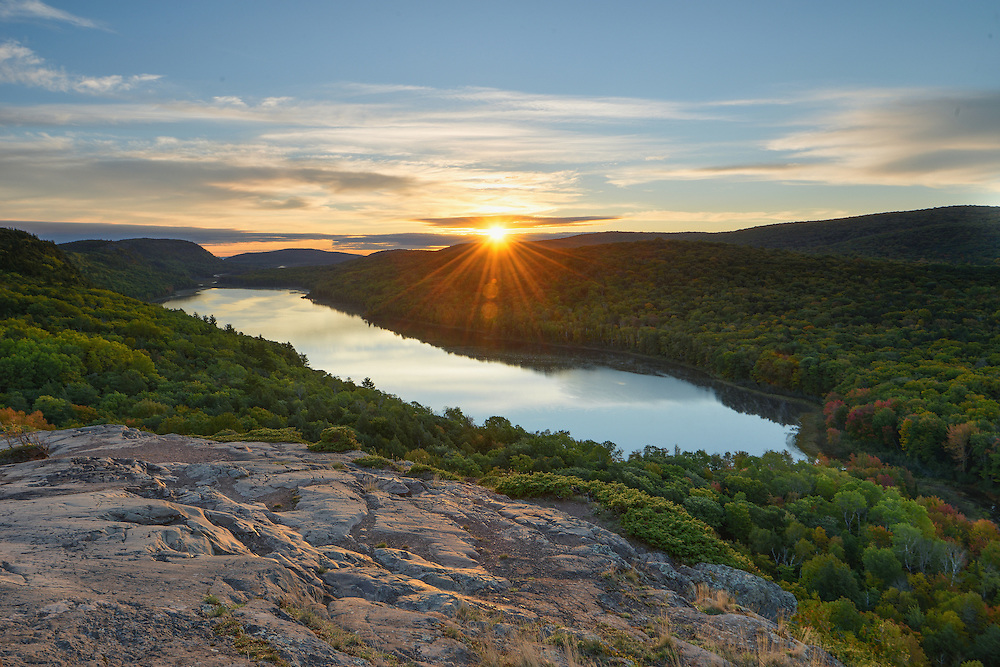 Lake of the Clouds<br /> Porcupine Mountains Wilderness