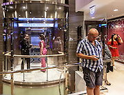 Royal Caribbean, Harmony of the Seas, one of the 24 lifts on the boat