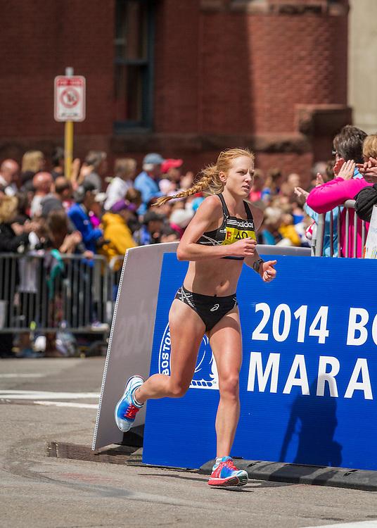 2014 Boston Marathon: Bria Wetsch
