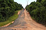 The road to Cabot Cruz, Granma, Cuba.