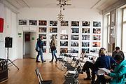 Ukrainski Swiat (Ukrainian World) museum and community center. A exhibition of photographs from the Maidan.