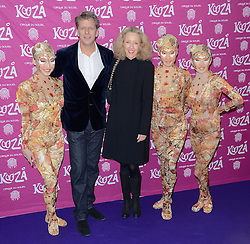 Andrew Castle and Sophia Castle  attend  Cirque Du Soleil Kooza Press Night  at The Royal Albert Hall, Kensington Gore, London on Tuesday 6 January 2015