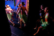 The Angels from Stagedoor, Minnesota perform during the New York Dance Alliance's national competition finale July 5, 2005 in New York City.<br />