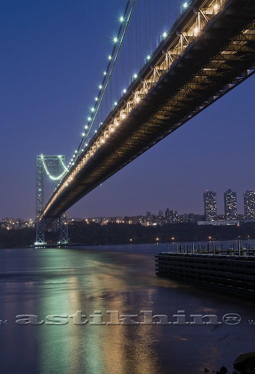 Reflection on Hudson River