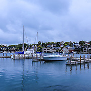 &quot;Beautiful Charlevoix&quot;<br /> <br /> Lovely scene in Charlevoix Michigan gazing out at the marina and beyond to the beautiful homes surrounding the lake!