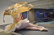 Classic ballerina at the new Edward P. Evans Hall | Yale School Of Management Yale University.