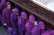 Easter Procession, Semana Santa, Holy Week, Antigua, Guatemala, Central America