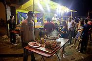 Carnival food in Santiago de Cuba, Cuba.