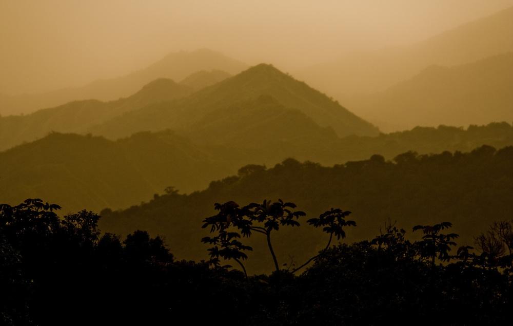 Sunset in the Sierra Nevada de Santa Marta, Colombia