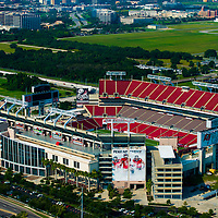 TAMPA, FLORIDA -- August 2013 -- Tampa Buccaneers stadium Raymond James Stadium.   (PHOTO / CHIP LITHERLAND)