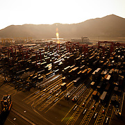 Busan New Port Container Terminal, Busan, South Korea