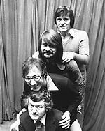 The Shadows 1975 Brian Bennett, Hank B Marvin, John Farrar, Bruce Welch.© Chris Walter.