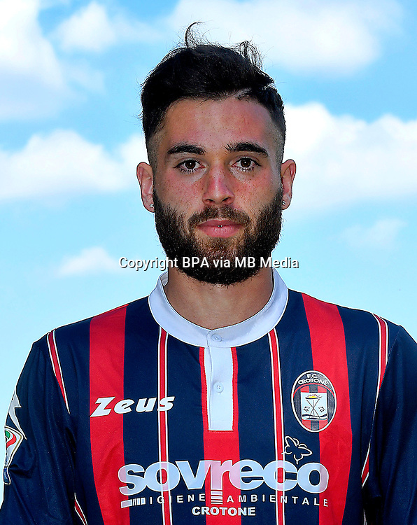 Italian League Serie A -2016-2017 / <br /> ( Fc Crotone ) - <br /> Giuseppe Marco Zampano &quot; Giuseppe Zampano &quot;