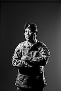 Army Lieutenant Colonel Athakhanh Manousack serves in the Republic of Vietnam Company, which was stood up in NOV 2012 and is based in Anderson, SC.<br />