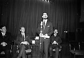 "1967 - First showing of ""Fleá Cheoil"" at the Metropole Cinema, Dublin"
