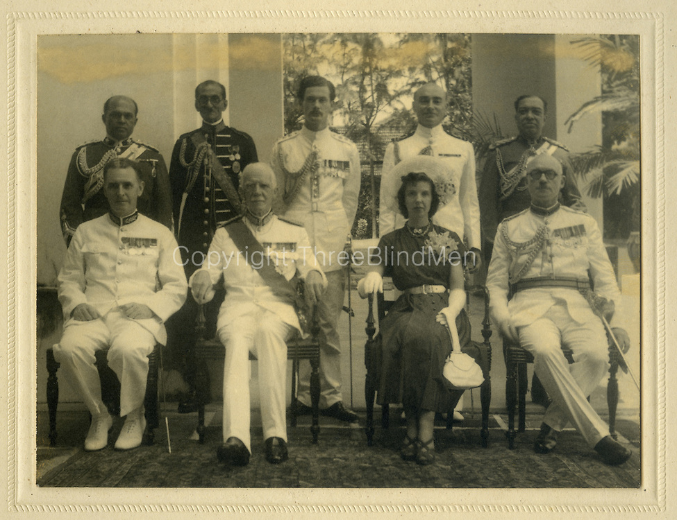 Governor of Ceylon. <br />