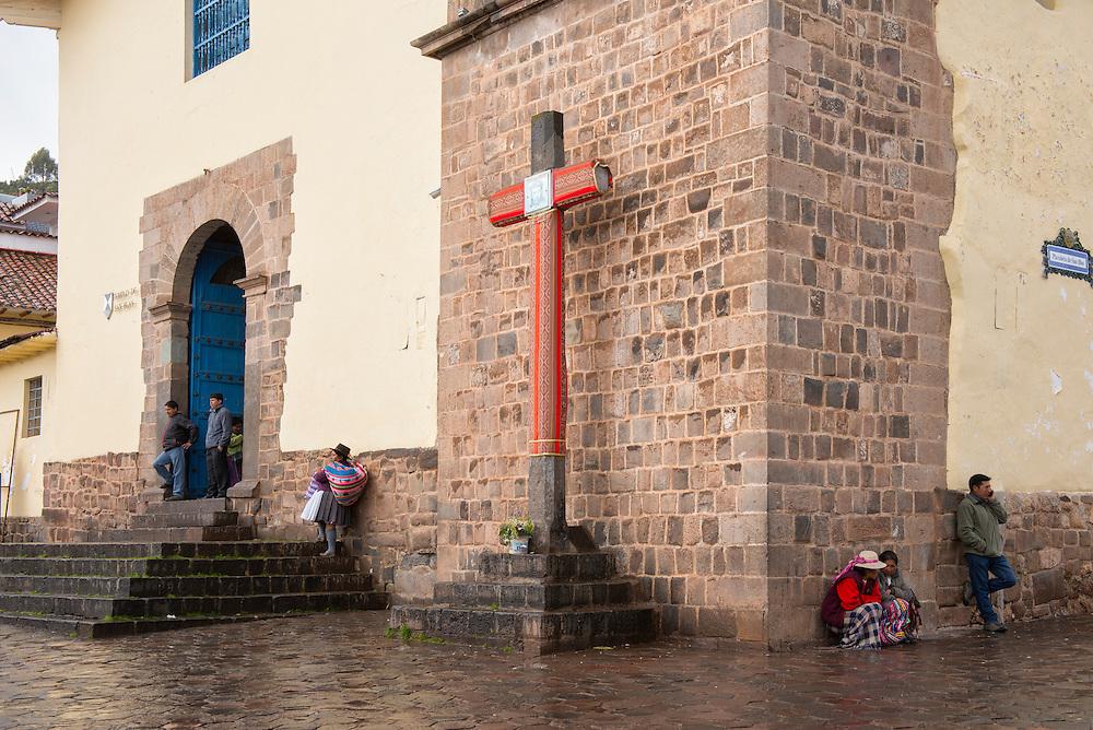 South America, Andes, Peru,Cusco, Templo de San Blas